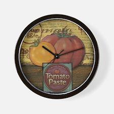 Unique Chef coffee Wall Clock