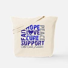 Hope Colon Cancer Tote Bag