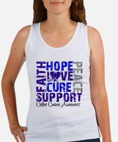 Hope Colon Cancer Women's Tank Top