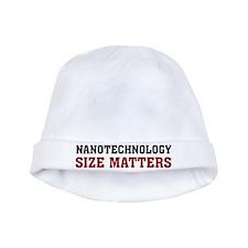 Nanotechnology Size Matters baby hat