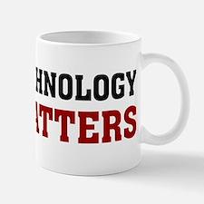 Nanotechnology Size Matters Mug
