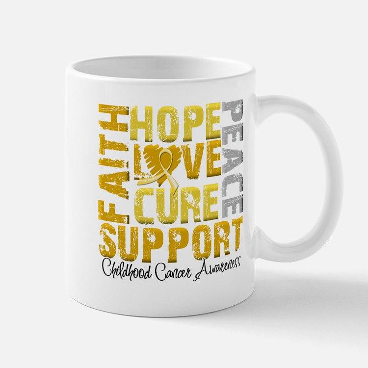 Hope Childhood Cancer Mug
