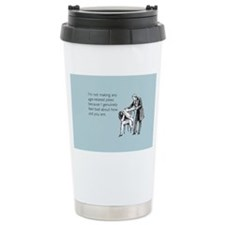 Age Related Jokes Stainless Steel Travel Mug