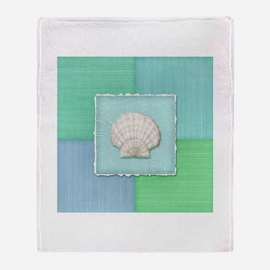 Cute Seascapes Throw Blanket