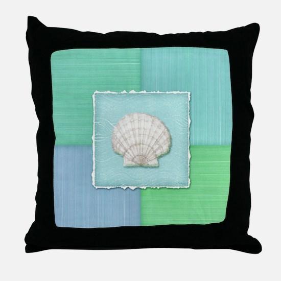 Cute Sand dollar Throw Pillow