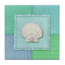 Funny Sand dollar Tile Coaster