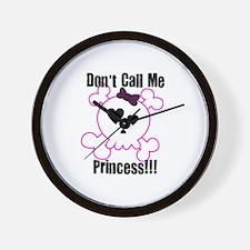 Anti-Princess Wall Clock