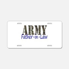 Father-in-Law Aluminum License Plate