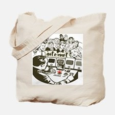 Internet Down Tote Bag