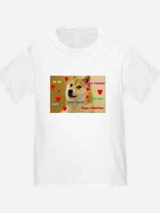 Cute Dog t logo T