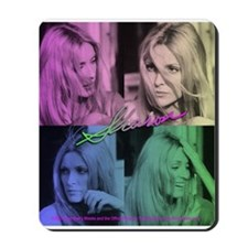 Sharon Tate Colorful Quad Mousepad