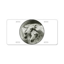 Pharaoh's Horses Aluminum License Plate