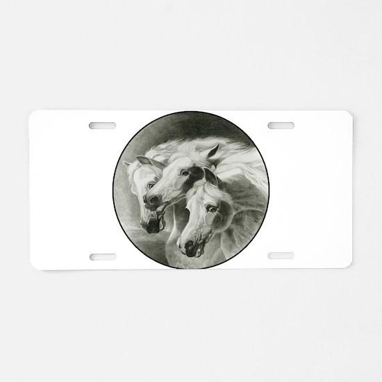 Pharaoh's Horses Aluminum License Plate