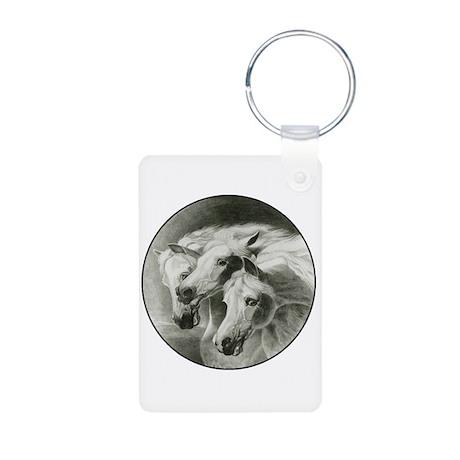 Pharaoh's Horses Aluminum Photo Keychain