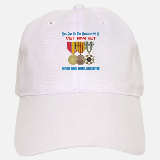 Presence of a Viet Nam Vet Baseball Baseball Cap