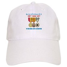 Presence of a Viet Nam Vet Baseball Cap