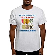 Presence of a Viet Nam Vet T-Shirt