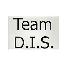 'Team DIS' Rectangle Magnet