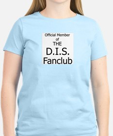 'DIS fanclub' Women's Pink T-Shirt
