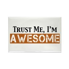 Trust Me I'm Awesome Rectangle Magnet