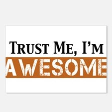 Trust Me I'm Awesome Postcards (Package of 8)