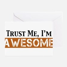 Trust Me I'm Awesome Greeting Cards (Pk of 20)