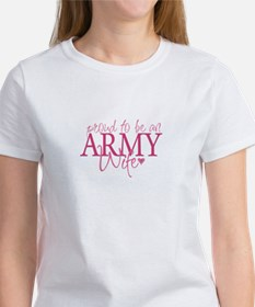 Proud to be an Army Wife Tee