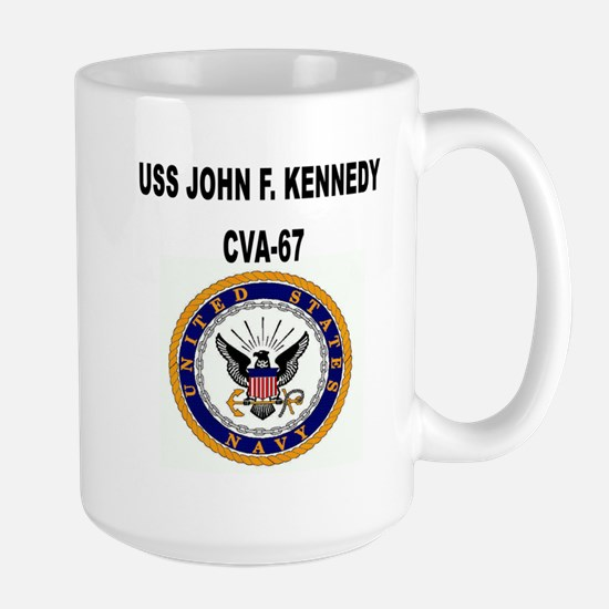 USS JOHN F. KENNEDY Mugs
