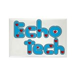 Cardiac Echo Tech Rectangle Magnet (10 pack)