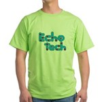 Cardiac Echo Tech Green T-Shirt