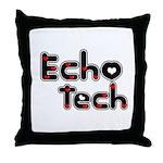 Cardiac Echo Tech Throw Pillow