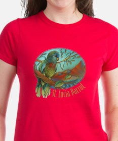St Lucia Parrot Tee