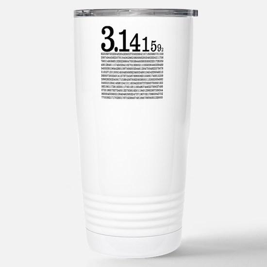 3.1415926 Pi Stainless Steel Travel Mug
