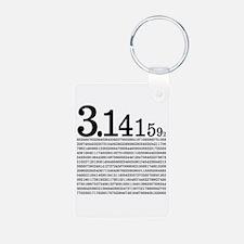 3.1415926 Pi Keychains