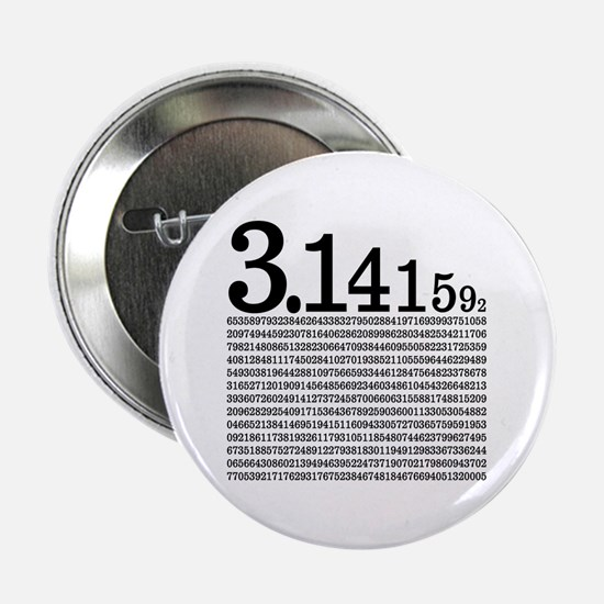 """3.1415926 Pi 2.25"""" Button (10 pack)"""