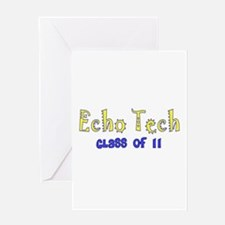 Cardiac Echo Tech Greeting Card
