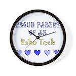 Cardiac Echo Tech Wall Clock