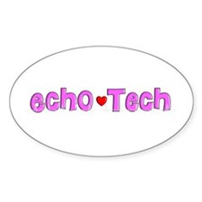 Cardiac Echo Tech Decal