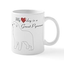 My Heart Dog is a Pyr Mug