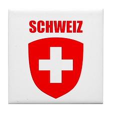 Schweiz Tile Coaster