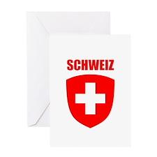 Schweiz Greeting Card