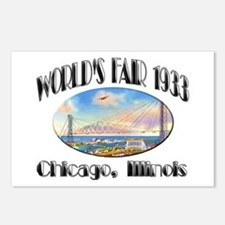 World's Fair 1933 Postcards (Package of 8)
