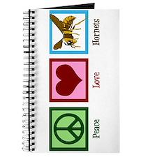 Peace Love Hornets Journal
