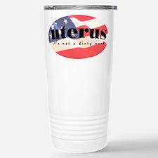 Patriotic Uterus - Travel Mug