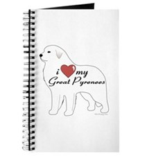 Heart My Great Pyrenees Journal
