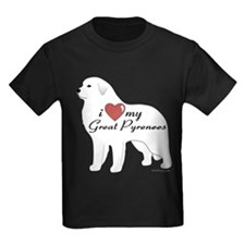 Heart My Great Pyrenees T