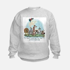 Animals for Earth Day Sweatshirt