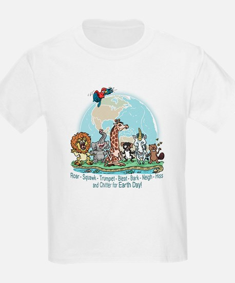 Animals for Earth Day T-Shirt