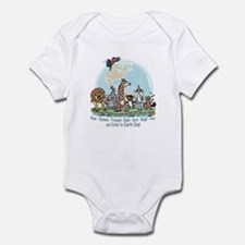 Animals for Earth Day Infant Bodysuit