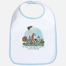 Animals for Earth Day Bib